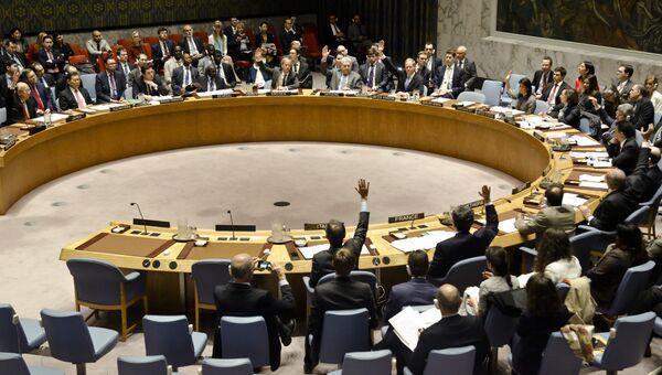 Голосование в Совбезе ООН. Архивное фото