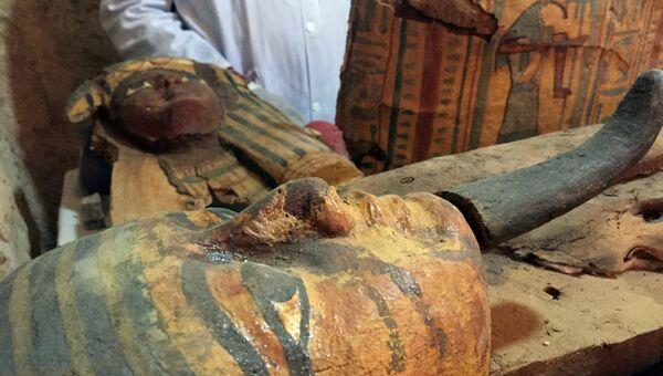 Гробница эпохи 18 династии фараонов, найденная египетскими археологами в Луксоре