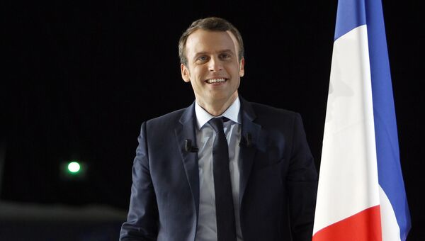 Кандидат в президенты Франции Эммануэль Макрон. Архивное фото
