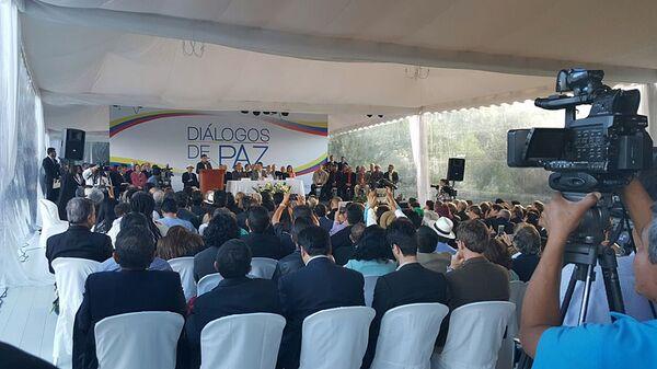 Переговоры повстанцев и правительства Колумбии