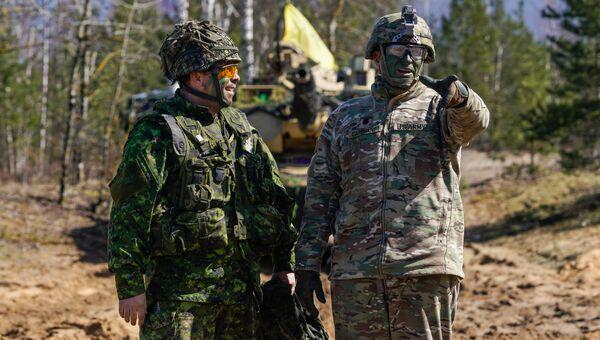 Военнослужащие США на международных военных учениях Summer Shield XIV в Латвии. Архивное фото