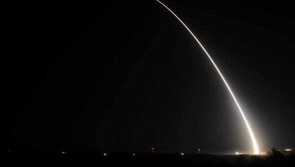 Испытания межконтинентальной баллистической ракеты Minuteman III. 2015 год