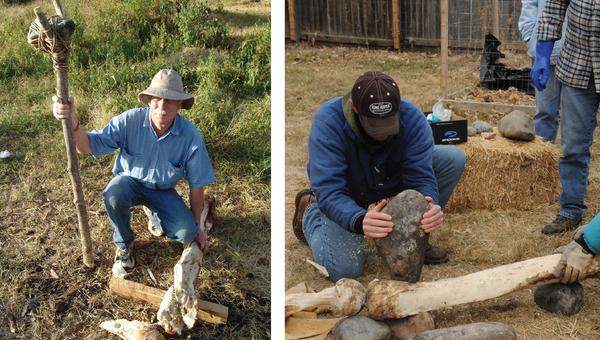 Ученые демонстрируют, как древнейшие люди Америки раскалывали кости мастодонтов