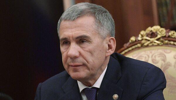 Президент Республики Татарстан Рустам Минниханов. Архивное фото