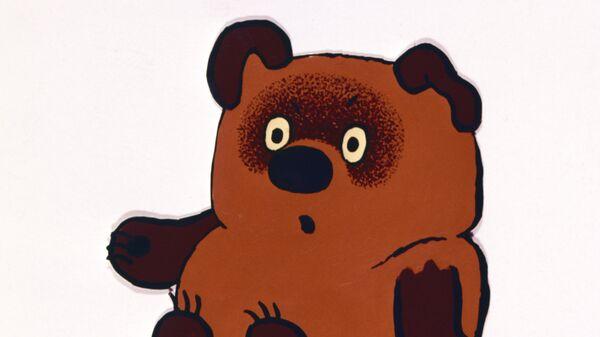 Кадр из мультипликационного фильма Виннни-Пух
