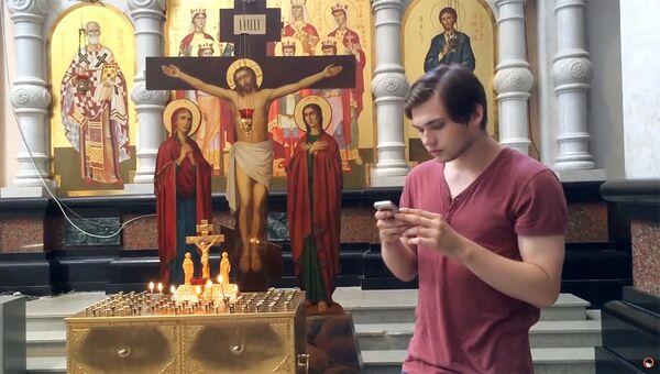 Стоп-кадр из видео на канале Руслана Соколовского в YouTube