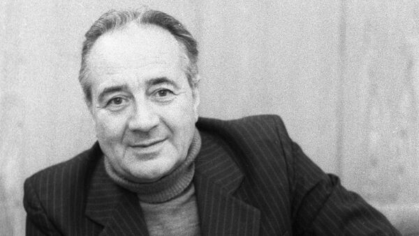 Писатель Анатолий Алексин. Архивное фото