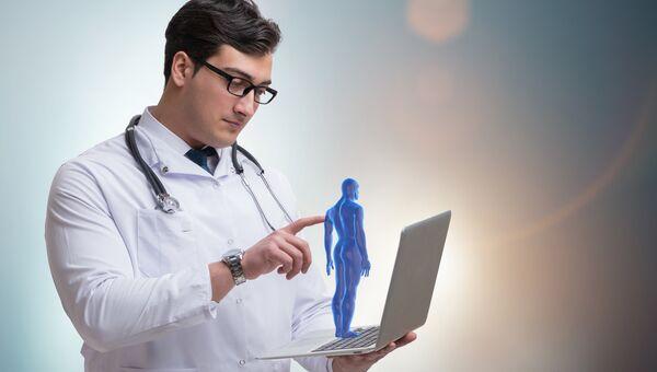 Онлайн медицина. Архивное фото