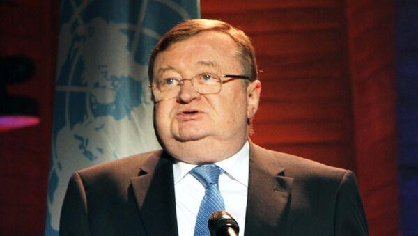 Постоянный представитель РФ в ЮНЕСКО Александр Кузнецов. Архивное фото