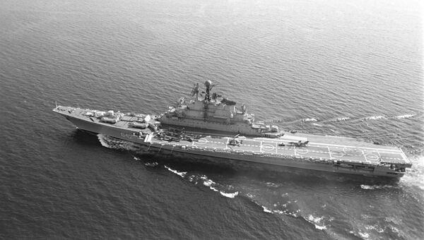 Тяжелый авианесущий крейсер Минск. 1986 год