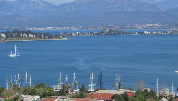 Турецкий курорт. Архивное фото