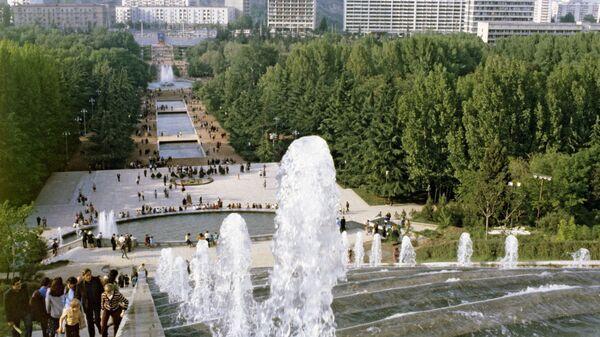 Парк Победы в Тбилиси