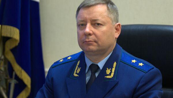 Руководитель Московской межрегиональной транспортной прокуратуры Владимир Тюльков. Архивное фото