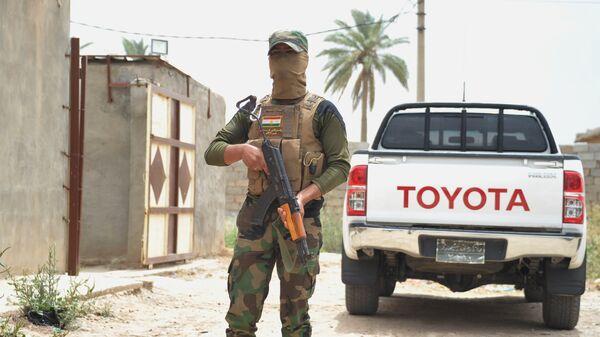 Военнослужащий вооруженных сил Иракского Курдистана