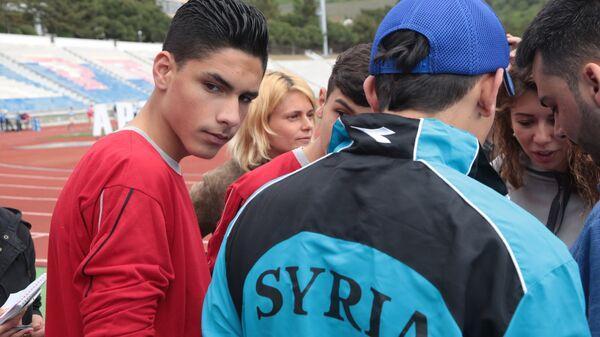 Сирийские дети на отдыхе в лагере Артек в Крыму. Архивное фото