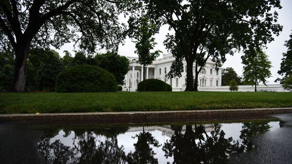 Здание Белого дома в Вашингтоне. Архивное фото