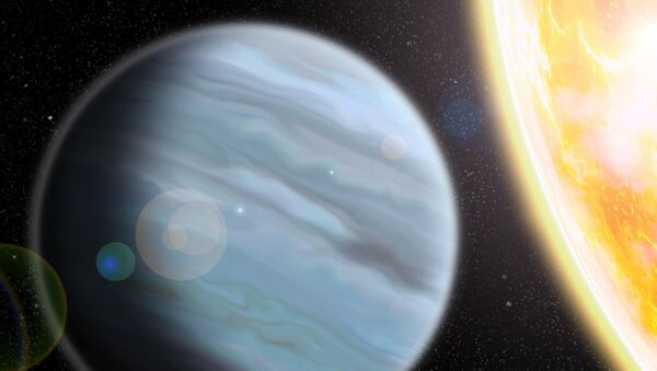 Планета KELT-11b, открытая учеными в созвездии Секстанта