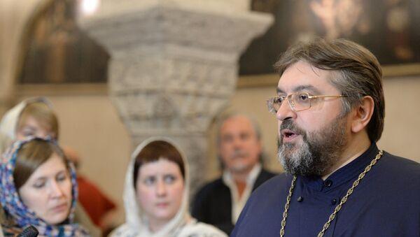 Настоятель патриаршего подворья святителя Николая Чудотворца в городе Бари протоиерей Андрей Бойцов