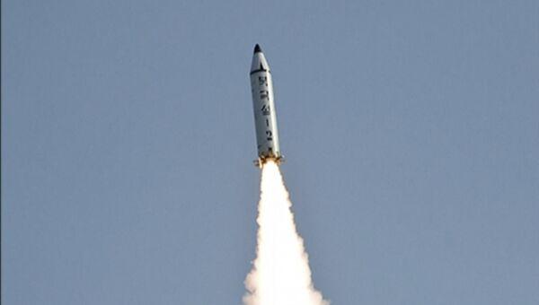 Пуск ракеты Пуккыксон-2 в Северной Корее. Архивное фото