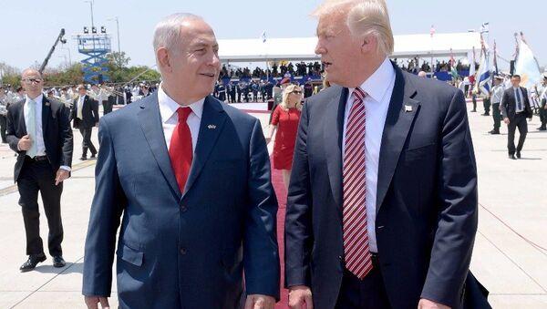 Визит президента США Дональда Трампа в Израиль