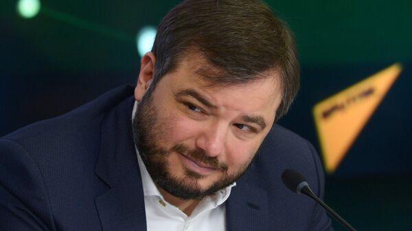 Генеральный продюсер телеканала НТВ Тимур Вайнштейн на пресс-конференции в ММПЦ МИА Россия сегодня
