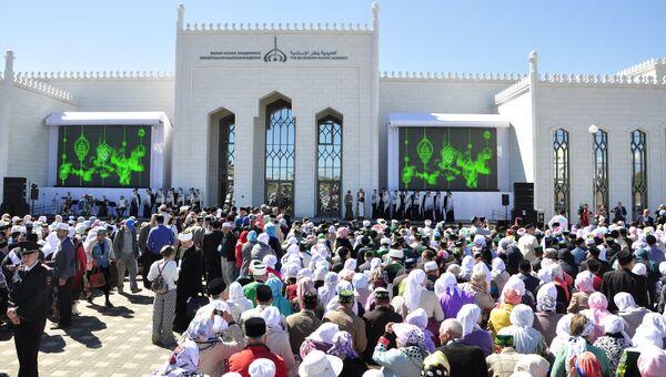 Презентация строительства Болгарской исламской академии