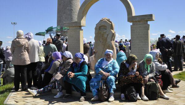 Мемориальный памятный знак, посвященный первым проповедникам ислама на булгарской земле