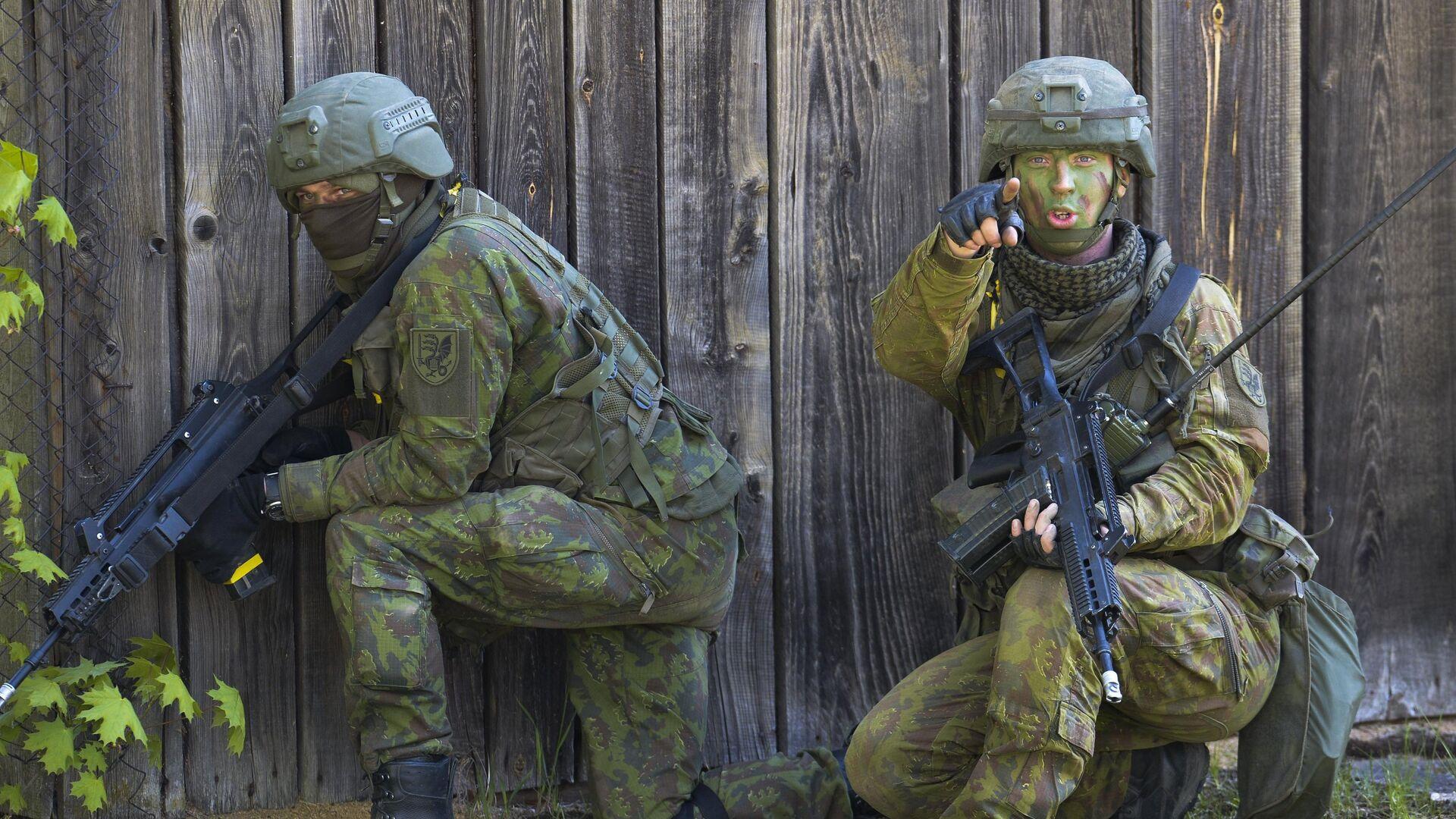 Военные учения НАТО в Эстонии - РИА Новости, 1920, 21.03.2021