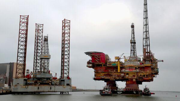 Буровая платформа Shell Brent Delta Topside