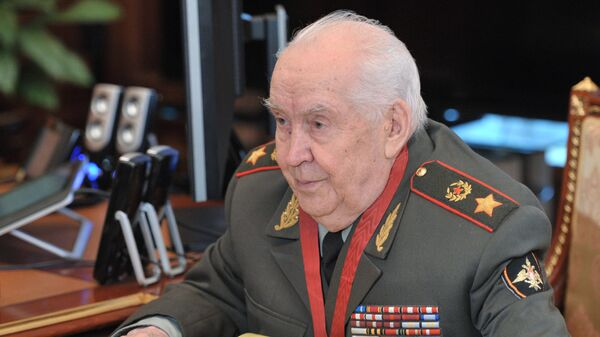 Президент Академии военных наук РФ, генерал армии Махмут Гареев