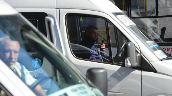 Водители в маршрутках в Москве