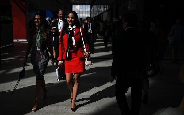В Экспофоруме во время Санкт-Петербургского международного экономического форума 2017