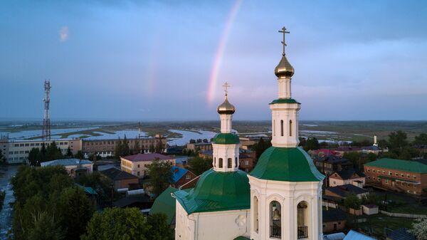 Спасская церковь в городе Тара, Омская область