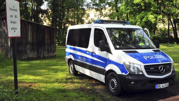 Автомобиль полиции Германии. Архивное фото
