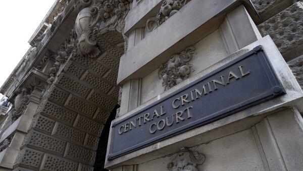 Здание центрального уголовного суда Англии на улице Олд-Бейли. Архивное фото