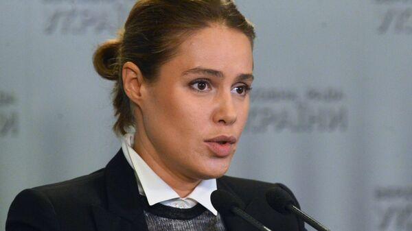 Народный депутат Украины Наталья Королевская