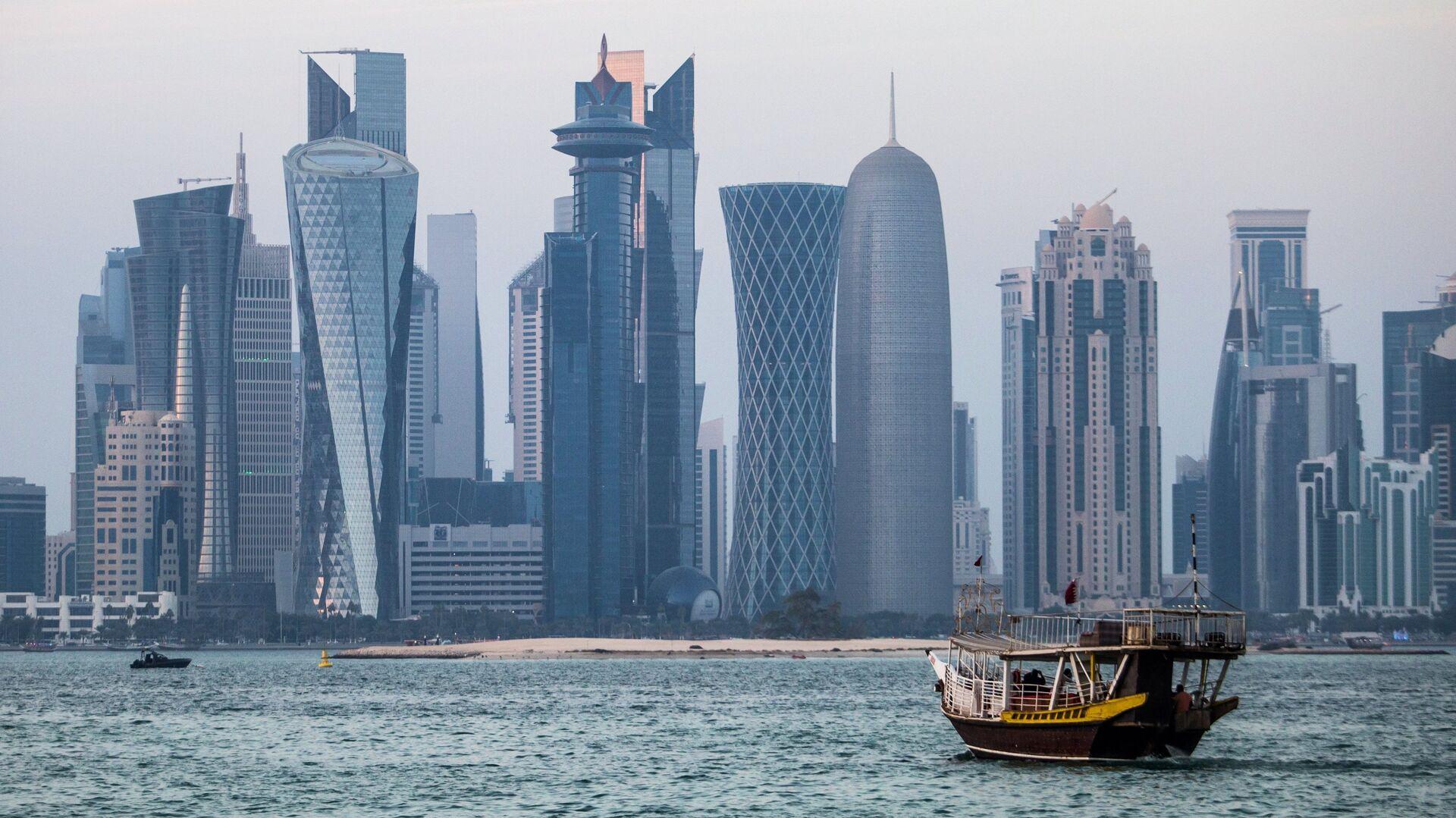 Район Вест-Бэй города Доха, Катар - РИА Новости, 1920, 12.01.2021