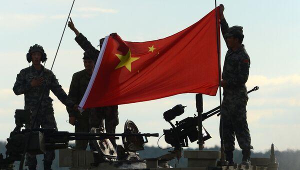 Китайский танк. Архивное фото