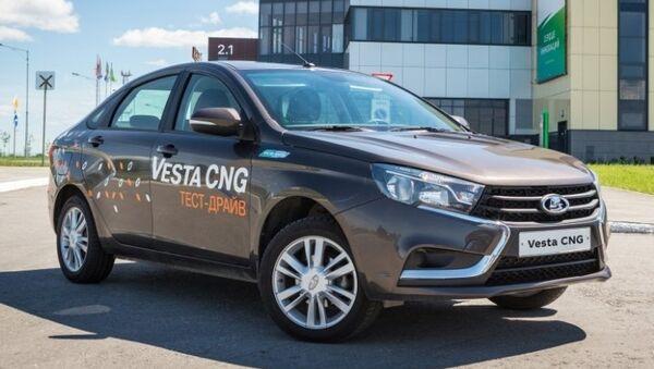 Двухтопливная версия LADA Vesta CNG