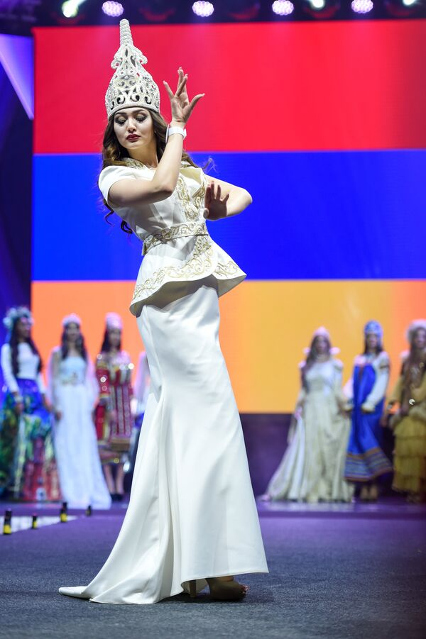Участница конкурса красоты Мисс СНГ-2017