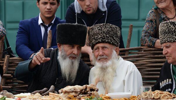 Жители Кавказа. Архивное фото