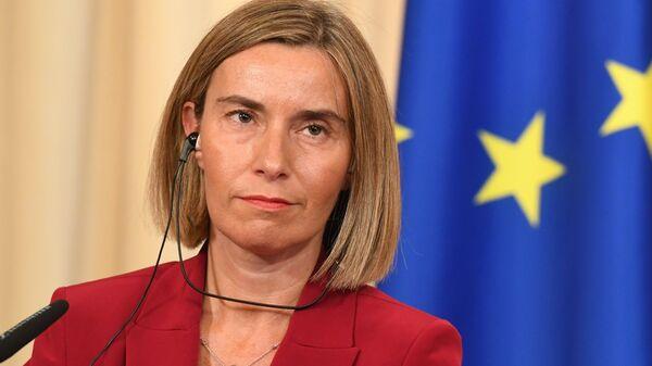 Верховный представитель Европейского союза по иностранным делам и политике безопасности Федерика Могерини