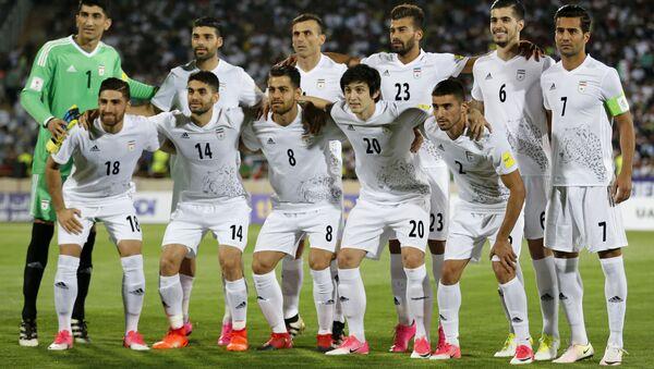 Сборная Ирана перед матчем с командой Узбекистана, 12 июня 2017