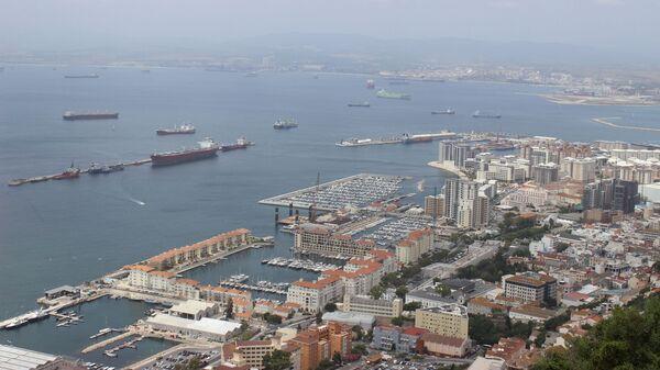 Вид Гибралтара