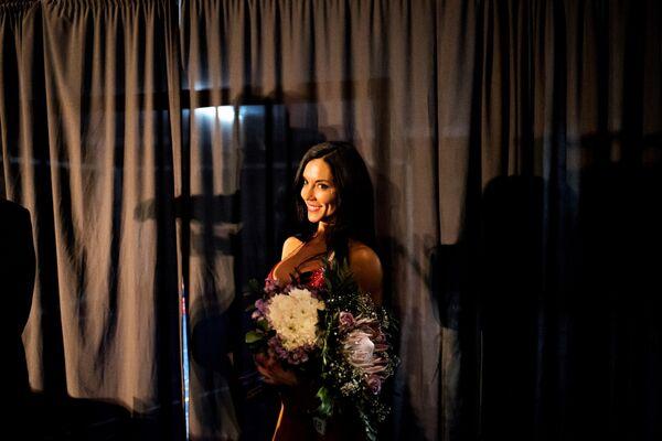 Победительница соревнования по бодибилдингу Miss South Africa Xtreme в ЮАР