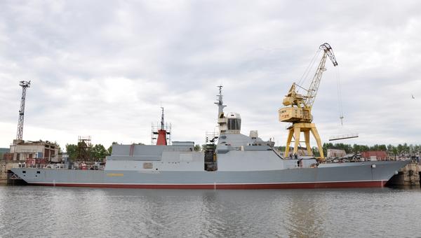 Корвет проекта 20380 Совершенный на Амурском судостроительном заводе