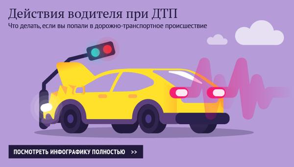 Действия водителя при ДТП