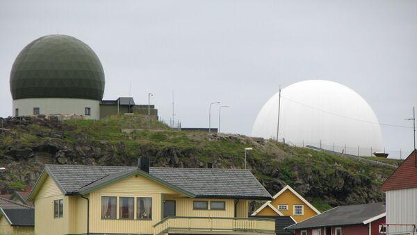 Радар Globus II, расположенный на территории норвежского города Вардё