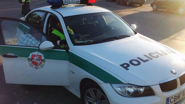 Сотрудники полиции Литвы