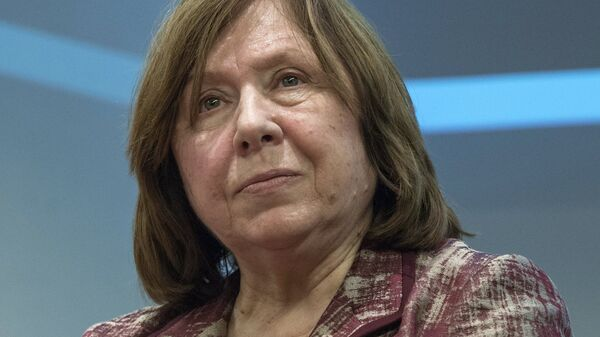 Писатель Светлана Алексиевич